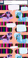Ask Twilight and Copycat #14 by Kendell2