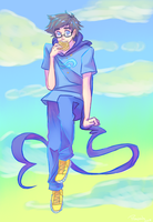 John Egbert by Biology-of-Pencils