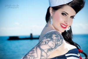 sailor pin-up II by paradoxphotography