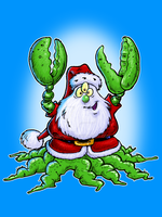 Santa Claws by jimspon