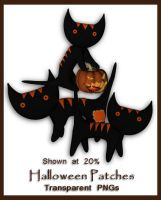 Halloween Patches by shd-stock