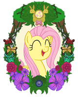 Fluttershy Vintage by Template93