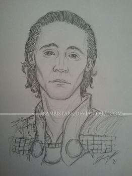 Tom Hiddleston - Loki by bambistark