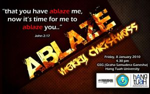 ablaze-wallpaper1280x800 by theXIVdesigns