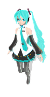 DT hatsune miku V3 by MMD-francis-co