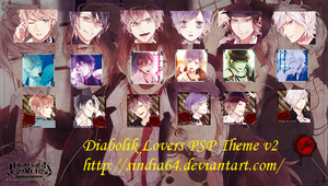Diabolik Lovers PSP Theme v2 by sindia64