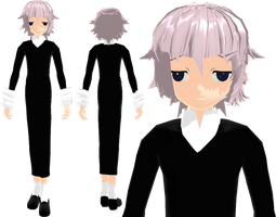MMD - Crona - UPDATED by Majikaru-Rin