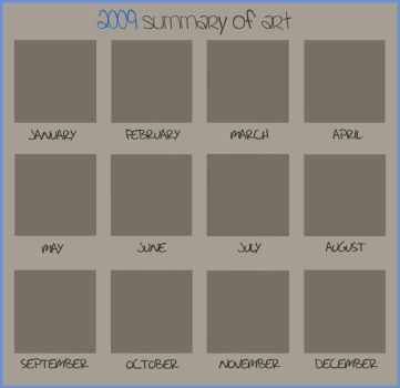 2009 Summary of Art by Zusional