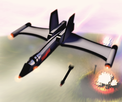 IDC-15 Multi-Role Jet by orcbruto