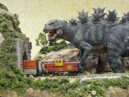 The Chase detail by Legrandzilla