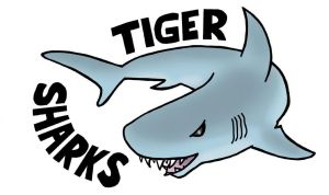 TIGER SHARKS LOGO by phymns