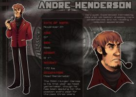 Hunger Games OCT: Andre by kaalashnikov