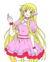 chi from chobits by wfno