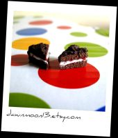 Black Forest Gateau Charms by Dawnmoon13