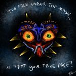 Face under the Mask by Michie-kei