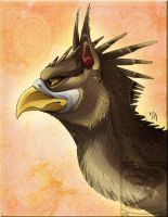 Personal - Gryph Portrait by TwilightSaint