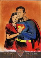Superman: The Legend sketchcard 11 by RobertHack