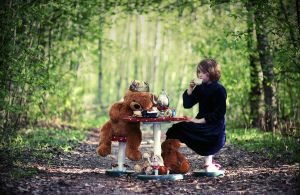 Tea party in the forest by PicturePuttonen