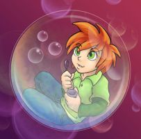 Bubble Child - Yoshi by Wazaga