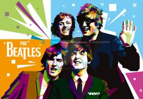 The Beatles by pancaproduction