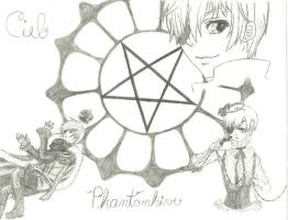 Ciel Phantomhive by Crazy-Drawing-Writer