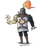 Solaire Of Astora by chuylol14
