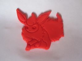Flareon Cookie Cutter Play-Doh Test by B2Squared