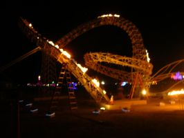 Fire Coaster Installation by zhe-universe