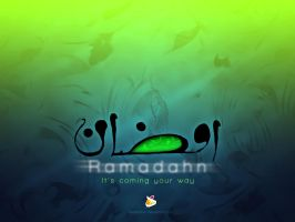 Ramadahn Blue Green by HeDzZaTiOn