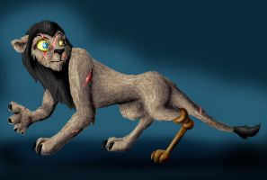 Lion King - Mad-Eye Moody by hyenacub