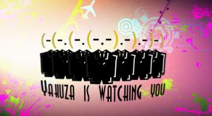 Yakuza is watching you by He-Tian-Heng