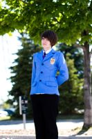 Ouran High School Host Club ~ Haruhi Fujioka by JUNeProductions