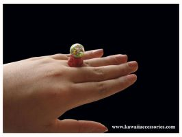 Gumball Machine Ring by KAWAIIACCESSORIES