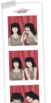 The Photo Booth Incident by amberfoxwing