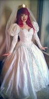 Ariel wedding dress by mayumi-loves-sora