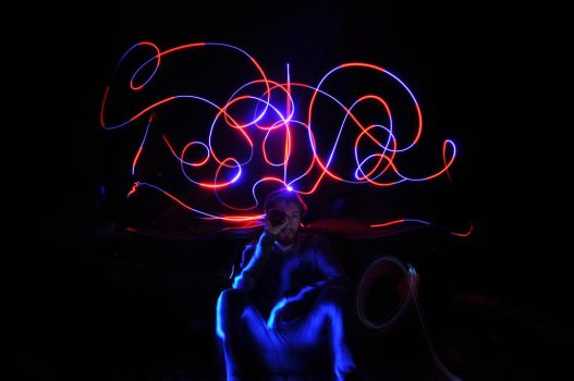light painting by ROOMOONA by irnldy