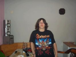 Me in the Sabaton shirt by edge4923