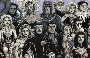X-Men: Utopia by olybear