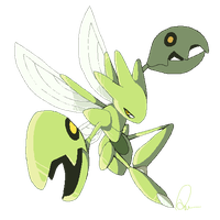 Shiny Scizor by iPhysik