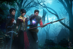 Dragon Age cosplay by HydraEvil