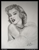 Marilyn Monroe by iSaBeL-MR