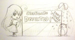 Day 363: CHALLENGE DEFEATED :D by shortpinay