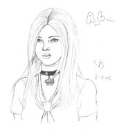 Avril Lavigne by perfectionsflaw