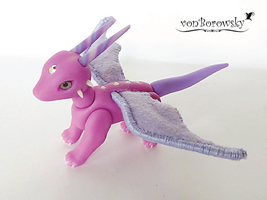 Pony Dragon Doll by vonBorowsky