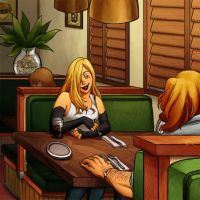 Diner Chat by Telemondo