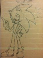 Sonic the hedgehog by SWAG-Daddy