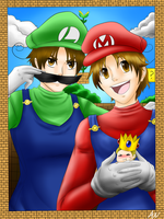 Super Italy Bros. Complete by AskHeroicHamburger