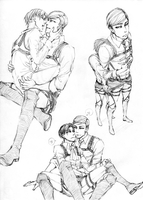 EruRi Sketch by GustNove