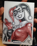 Classic Harley Quinn by WarrenLouw