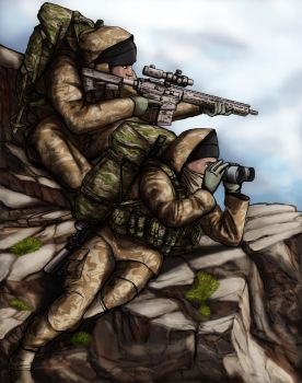 UK Special Boat Service by ThomChen114